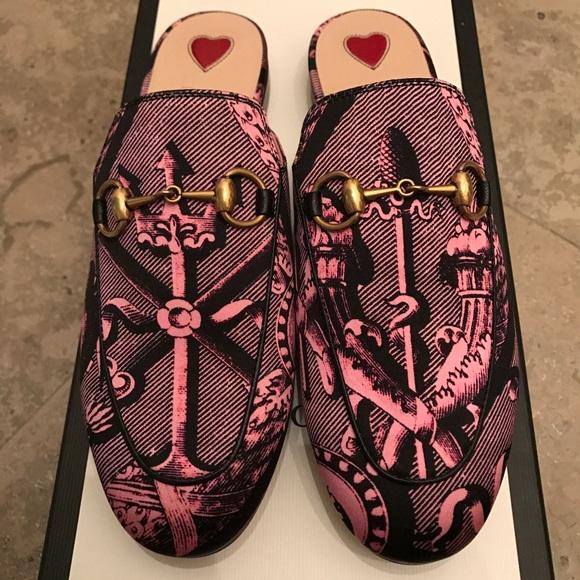 8a779ff9cb1 Gucci Princetown Loafer Mule